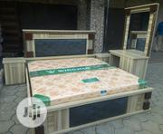 6/7 Family Size Bed With Mattress | Furniture for sale in Lagos State, Ojo