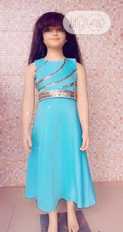 Teal Green Dress | Children's Clothing for sale in Lagos State, Ipaja