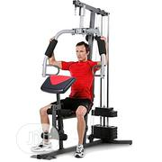 Generic Multi-Function One-Station Home Gym With Punch Bag | Sports Equipment for sale in Rivers State, Port-Harcourt