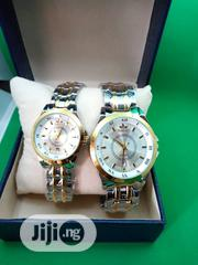 Satisfy Couples 2-Tone Chain Wrist-Watch - Gold and Silver | Watches for sale in Lagos State, Ojodu