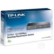 Tp-link 24 Ports 10/100mbs Desktop/Rack Mount Switch TL-1024D | Networking Products for sale in Lagos State, Ikeja