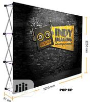 Backdrop And Velcro Pop Ups | Photography & Video Services for sale in Lagos State, Ikeja