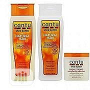 Cantu Sulfate-free Cleansing Cream Shampoo + Condition+Glow Strong | Hair Beauty for sale in Lagos State, Amuwo-Odofin