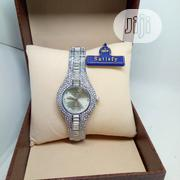 Satisfy Ladies Studded Wrist Watch - Silver | Watches for sale in Lagos State, Ojodu