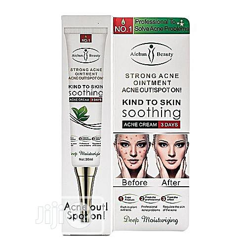 Aichun Beauty Strong Acne Ointment 3 Days Acne Out Spot On!
