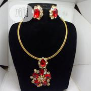 Sarah Zain Ladies Set of Jewelry - Red | Jewelry for sale in Lagos State, Ojodu