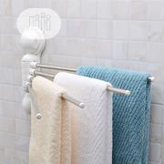 4 Bar Towel Rack With Magic Suction Cup | Home Accessories for sale in Lagos State, Lagos Island