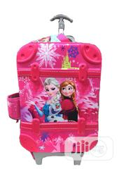 Frozen 3d 3 In 1 Trolley Backpack School Bag-pink | Babies & Kids Accessories for sale in Lagos State, Amuwo-Odofin