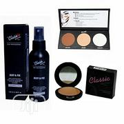 3-In-1 Kit Contour Effects Palette, Mist Fix Setting Spray Pres Pd | Makeup for sale in Lagos State, Amuwo-Odofin