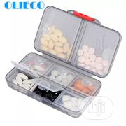 OLIECO Pill Cases Splitters Portable 8 Grids Medical Drugs Tablet | Tools & Accessories for sale in Rivers State, Port-Harcourt