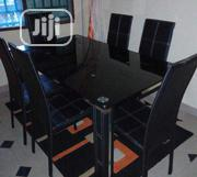 A New High Quality 6 Seater Turkey Glass Dining Table   Furniture for sale in Lagos State, Victoria Island