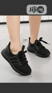 Unisex Black Sneakers For Kids For Both School And Parties | Children's Shoes for sale in Lagos State, Egbe Idimu