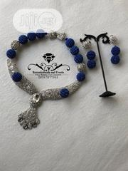 CLASSY Beaded Necklace With Earrings And Bracelet | Wedding Wear for sale in Bayelsa State, Yenagoa