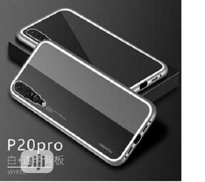 Magnetic Metal Frame Tempered Glass Case for Huawei P20 Pro