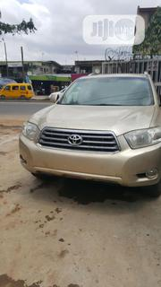 Toyota Highlander 2008 4x4 Gold | Cars for sale in Lagos State, Ojodu