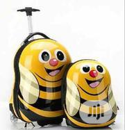 YELLOW BEE. 2 PCS SET 3D Children Trolley School Bags Kids Suitcase | Babies & Kids Accessories for sale in Lagos State, Amuwo-Odofin