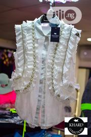 Unique And Quality White Armless For Ladies   Clothing for sale in Lagos State, Ojodu