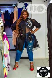 Quality And Unique Black Ladies Big Blouse   Clothing for sale in Lagos State, Ojodu