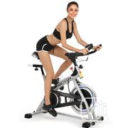 American Fitness Deluxe Commercial Spinning Bike and Accessories | Sports Equipment for sale in Abuja (FCT) State, Dei-Dei