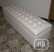6/2 Off White Puff | Furniture for sale in Rivers State, Port-Harcourt