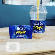 Branded 16oz Smoothie Cup With Dome Lid-100pcs | Meals & Drinks for sale in Lagos State, Ikoyi