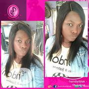 18inches Straight Wig With 2x6 Closure (Kim K Closure) | Hair Beauty for sale in Abuja (FCT) State, Jabi