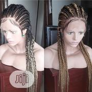 Cornrow Ghana Weaving Wig With Full Lace Wig Is Available | Hair Beauty for sale in Lagos State