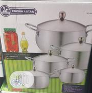 Master Chef 5 Set of Aluminum Cooking Pots | Kitchen & Dining for sale in Lagos State, Mushin