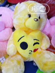 Teddy Bear With Emoji Heart   Toys for sale in Lagos State, Lagos Island