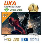"""UKA 32"""" LED HD TV - Haier Manufacturer - 3 Year Warranty   TV & DVD Equipment for sale in Oyo State, Ibadan"""