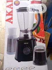 AKAI Blender With Mill Attachment (Heavy Duty Motor) | Kitchen Appliances for sale in Lagos State, Ojo