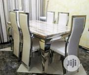 Quality 6 Seaters Marble Dining Table | Furniture for sale in Delta State, Warri South-West