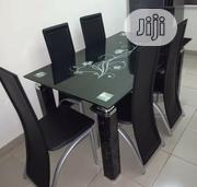 Quality 6 Seaters Glass Dining Table | Furniture for sale in Abuja (FCT) State, Asokoro