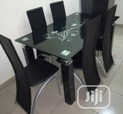 Quality 6 Seaters Glass Dining Table | Furniture for sale in Rivers State, Port-Harcourt
