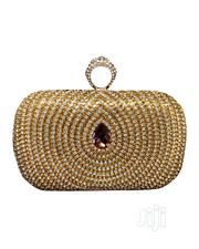Gold Round Purse | Bags for sale in Lagos State, Ajah