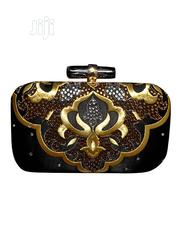Black and Gold Purse | Bags for sale in Lagos State, Ajah
