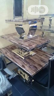 Quality Set of Marble Center Table With 2side Stool | Furniture for sale in Lagos State, Lekki Phase 2