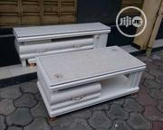 Quality Marble Centre Table With TV Stand | Furniture for sale in Lagos State, Victoria Island