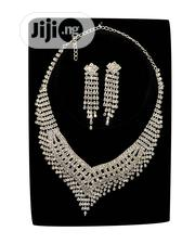 Ladies Silver Set of Necklace and Earrings | Jewelry for sale in Lagos State, Ajah