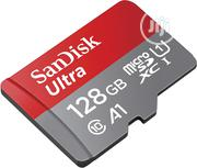 128GB Sandisk Microsdhc Memory Card With SD Adapter | Accessories for Mobile Phones & Tablets for sale in Lagos State, Ikeja
