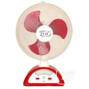 "14"" 2tm / 12"" Qasa Rechargeable Table Fan 