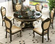 6 Seaters Round Wooden Dining Set | Furniture for sale in Lagos State, Ojo