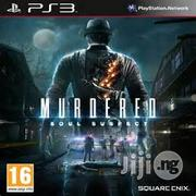 Ps3 Murdered: Soul Suspect (BRAND NEW) | Video Games for sale in Lagos State