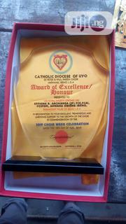 Acrylic Award With Printing | Arts & Crafts for sale in Abuja (FCT) State, Utako
