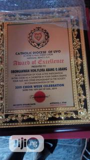 Quality Wooden Plaque Or Award | Arts & Crafts for sale in Lagos State, Surulere