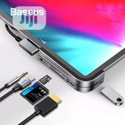 Baseus USB C Hub To USB 3.0 HDMI USB Hub Type C Hub Docking Station | Accessories for Mobile Phones & Tablets for sale in Lagos State, Ikeja