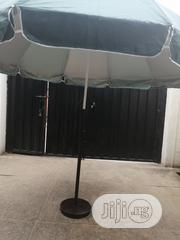 Quality Affordable Parasol Umbrella With Modern Iron Stand | Manufacturing Services for sale in Ebonyi State, Ikwo