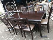 Unique Wooden and Leather 8 Seater Dinning Set | Furniture for sale in Lagos State, Lagos Mainland