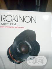 (Fish Eye Lens) Rokinon 12mm F/2.0 NCS CS | Accessories & Supplies for Electronics for sale in Lagos State, Ojo