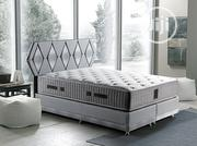 7x7 Caplin Storage Bed Set + 2 Side Drawers + Head Board | Furniture for sale in Lagos State, Ajah